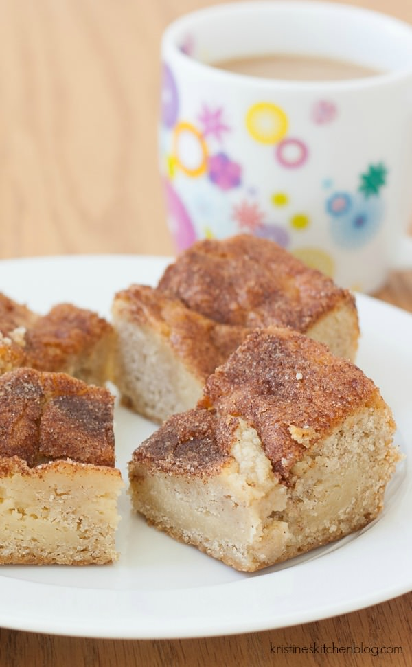 Gooey Cinnamon Squares. You've GOT to try these!