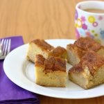 Gooey Cinnamon Squares~Kristine's Kitchen