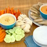 DIY Hummus: Original and Roasted Red Pepper~Kristine's Kitchen