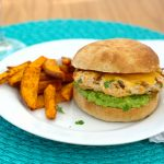 Jalapeno Cheddar Chicken Burger~Kristine's Kitchen