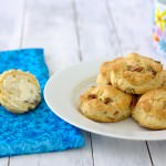 Pecan Sour Cream Biscuits~Kristine's Kitchen