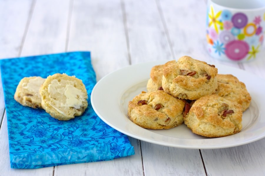 Pecan Sour Cream Biscuits - Kristine's Kitchen