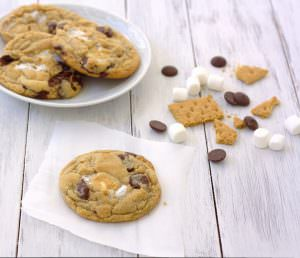 S'mores Cookies~Kristine's Kitchen