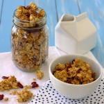 Big Cluster Maple Granola | Kristine's Kitchen