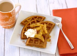 Brown Butter Gingerbread Waffles - Kristine's Kitchen