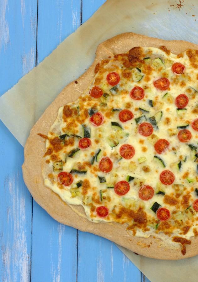 Chicken, Zucchini, And Ricotta Sandwich Recipe — Dishmaps