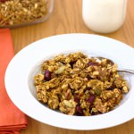 Pumpkin Spice Granola by Kristine's Kitchen