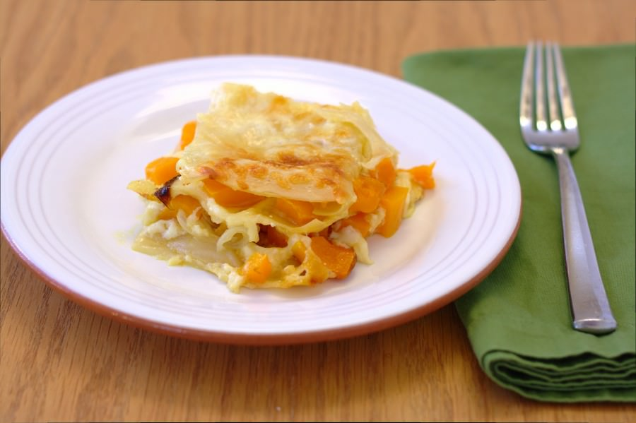 Roasted Butternut Squash Lasagna - Kristine's Kitchen