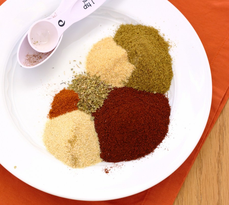 Homemade Taco Seasoning - you'll never buy a packet at the store again. | Kristine's Kitchen