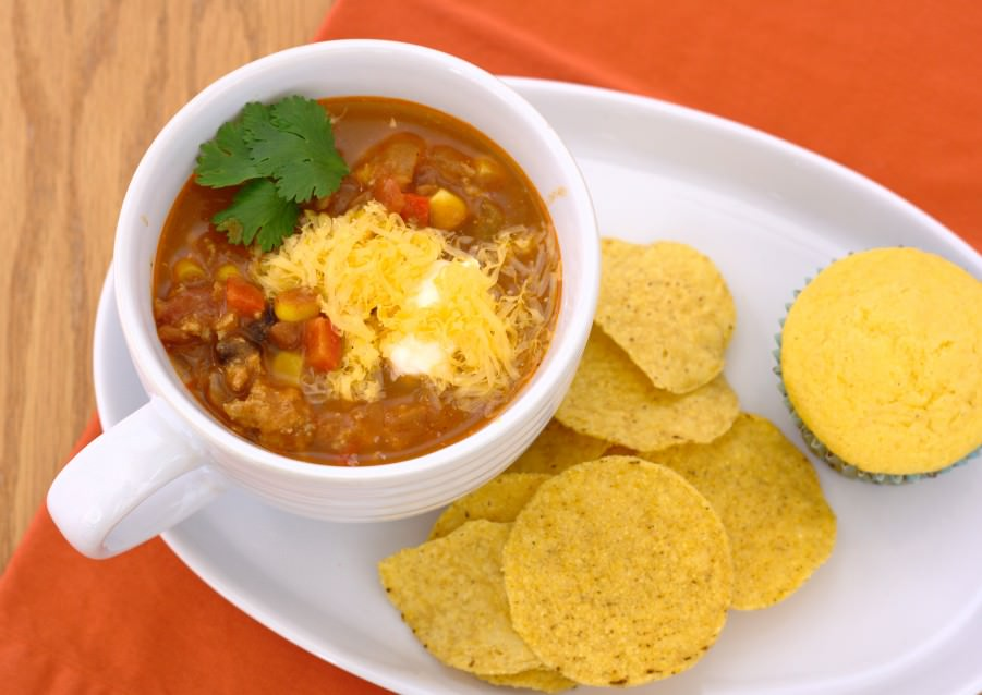 Turkey Chili Taco Soup~ Kristine's Kitchen