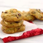 White Chocolate, Cranberry, and Macadamia Nut Cookies | Kristine's Kitchen
