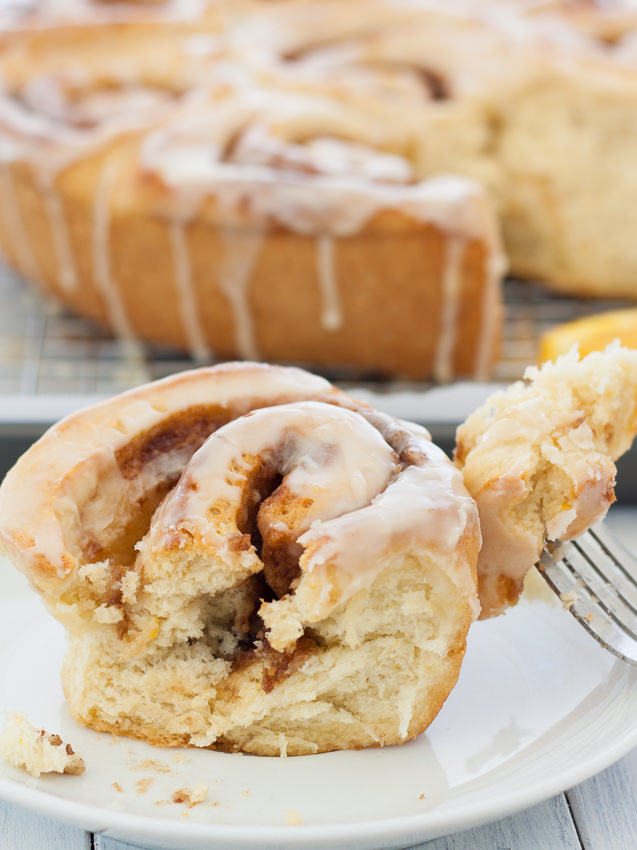 {Quicker} Orange Cinnamon Rolls | Kristine's Kitchen
