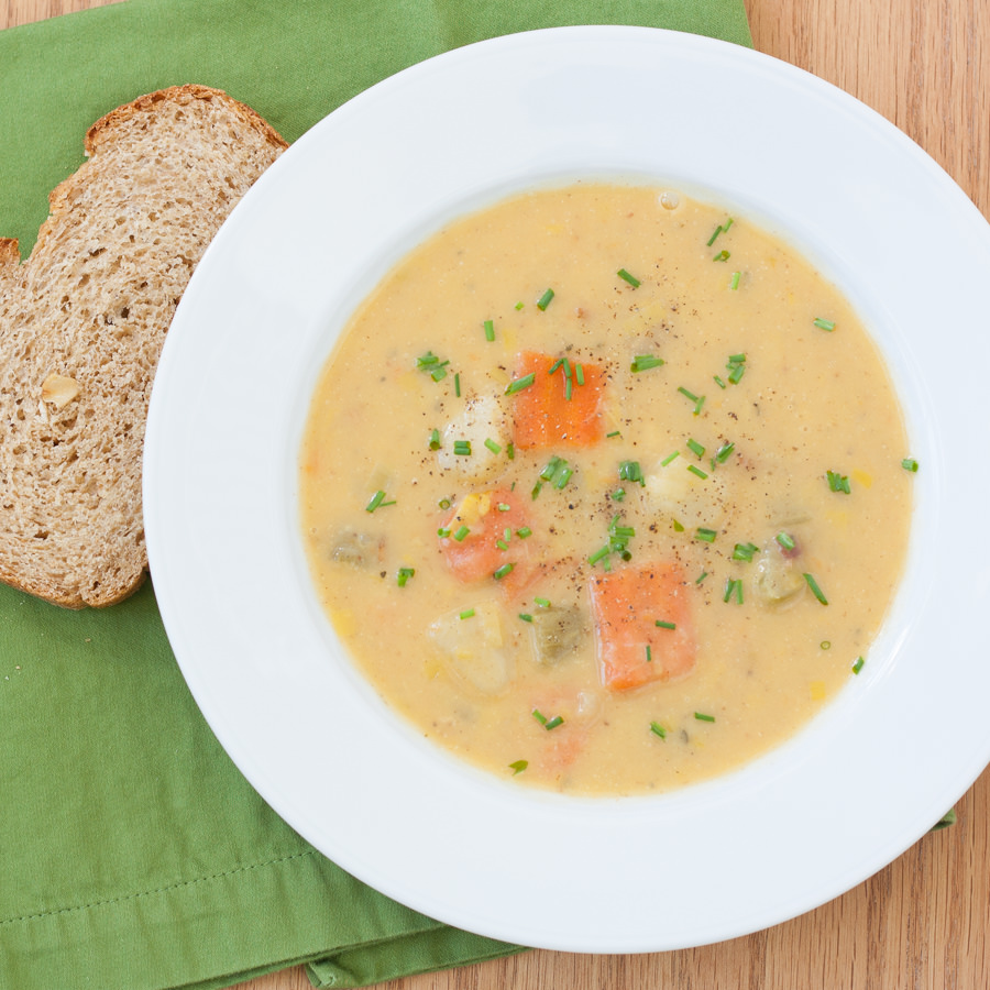 ... vegetable chowder parsnip chowder corn chowder potato chowder