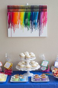 Colorful Art Birthday Party - Kristine's Kitchen-1613