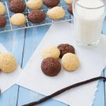 Homemade Vanilla Wafers and Chocolate Vanilla Wafers - You won't be able to resist these bite-sized treats!  | Kristine's Kitchen