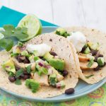 Chicken Tacos with Cucumber-Avocado Salsa | Kristine's Kitchen