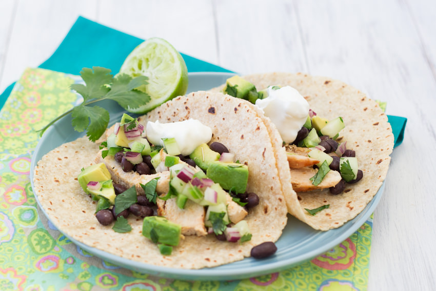 Steak Tacos with Cucumber-Avocado Salsa - Fine Cooking Recipes ...