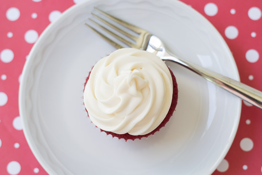 Red Velvet Cupcakes  with Cream Cheese Frosting by Kristine's Kitchen