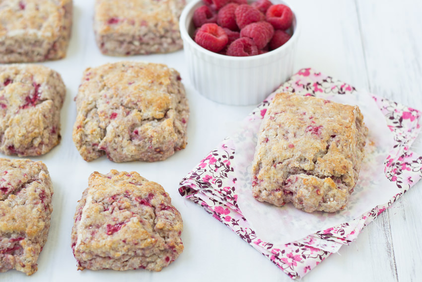 These Whole-Wheat Raspberry Ricotta Scones are a must-try! | Kristine ...