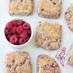 These Whole-Wheat Raspberry Ricotta Scones are a must-try! | Kristine's Kitchen