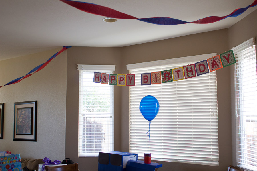 A Thomas the Train Birthday Party | Kristine's Kitchen