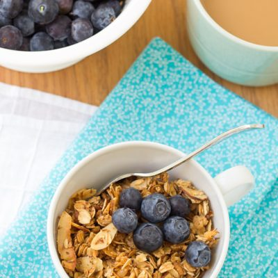 Honey Almond Flax Granola