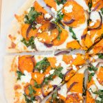 Sweet Potato and Kale Pizza | Kristine's Kitchen.  This pizza is my current favorite!