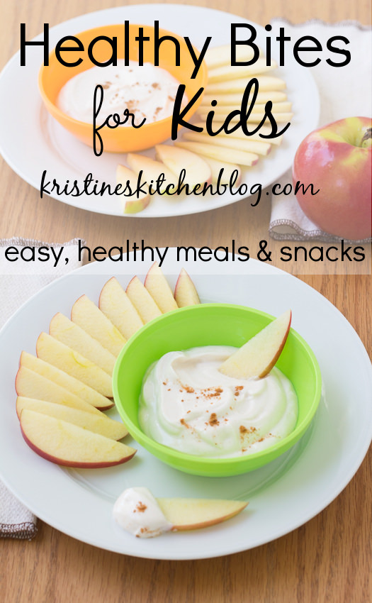 Healthy Bites for Kids:  easy, healthy meals and snacks for kids | Kristine's Kitchen