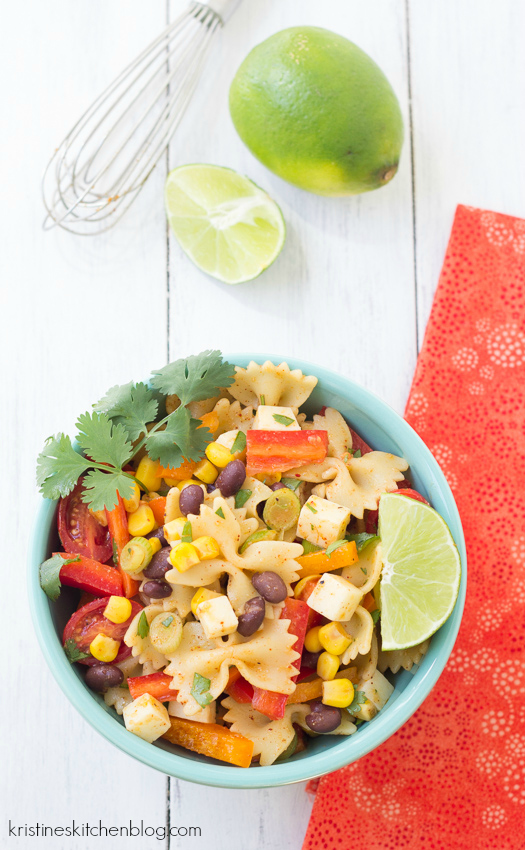 the southwestern flavors that you love, this Southwestern Pasta Salad ...