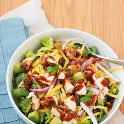 BBQ Chopped Chicken Salad