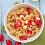 Easy Two Cheese  Pasta with Chickpeas - make a big batch for healthy lunches or a quick dinner | Kristine's Kitchen