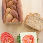 Easy 100% Whole-Wheat Sandwich Bread