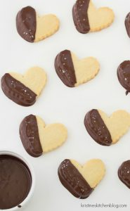 Salted Chocolate-Dipped Shortbread Cookies - Kristine's Kitchen-4133wm