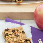 Apple, Cinnamon, and Raisin Granola Bars - a chewy, healthy snack! - Kristine's Kitchen