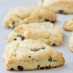 Cherry Cream Scones - quick, easy, plus so flaky and buttery! | Kristine's Kitchen