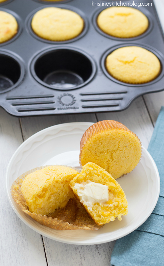 These Corniest Corn Muffins have an amazing texture thanks to real ...