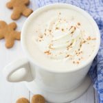 Two minutes are all you need to make this spiced Gingerbread Coffee!