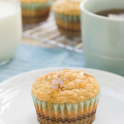 Maple Banana Pancake Muffins