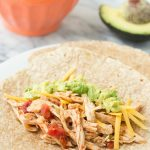 3-Ingredient Slow Cooker Taco Chicken