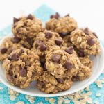 Banana Chocolate Chip Breakfast Cookies
