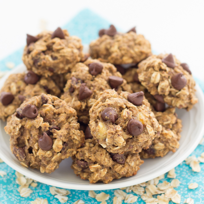 Banana Chocolate Chip Breakfast Cookies - Kristine's Kitchen