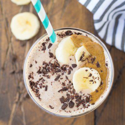 Cocoa Almond Protein Smoothie