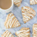 Maple-Glazed Cinnamon Scones