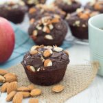 A healthy whole-wheat muffin made with flaxseed, these Skinny Dark Chocolate Chunk Muffins are bursting with chocolate chips and topped with crunchy almonds.