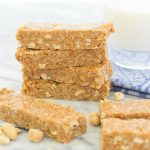 No Bake Nutty Peanut Butter Granola Bars - rich peanut butter flavor, takes just 10 minutes!
