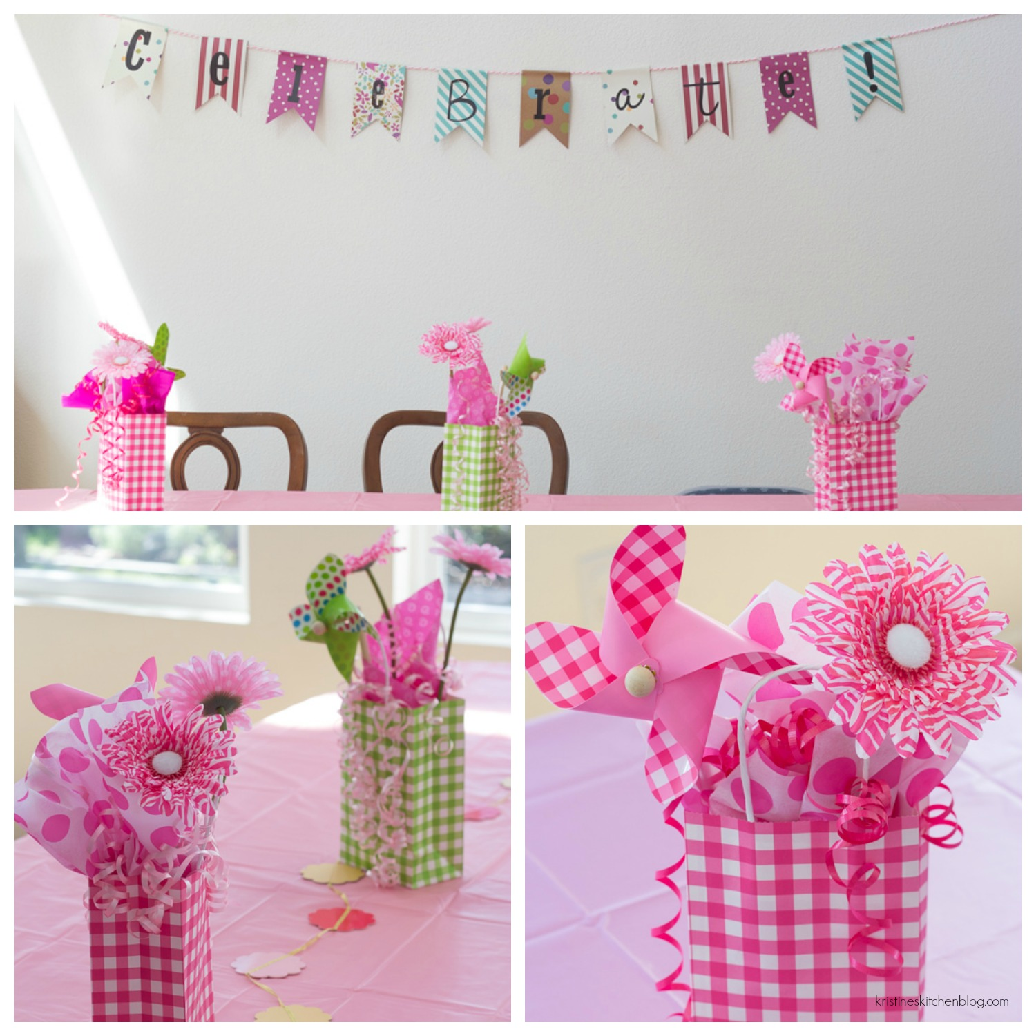 Girl's 6th Birthday Party Decorations