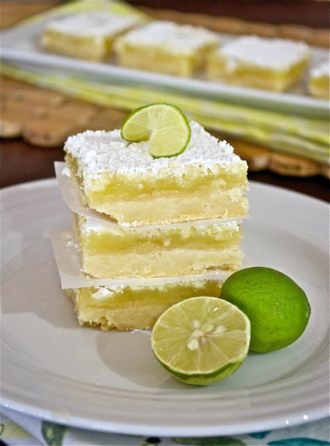 Key Lime Bars by Flavor the Moments
