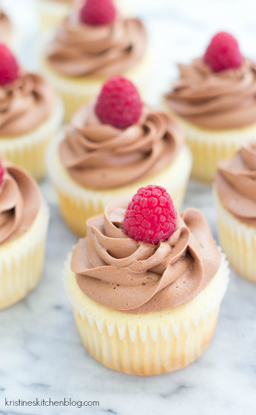 ... frosting. These Raspberry-Filled Chocolate Lemon Cupcakes are perfect