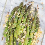 Orange and Shallot Roasted Asparagus