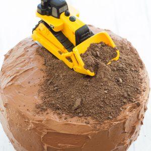 Construction Birthday Party Cake